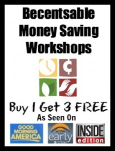 Coupon Workshop Sale