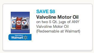 Expired valvoline motor oil 10 rebate and 8 coupon for Valvoline motor oil coupons