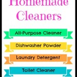 5 Homemade Cleaners: Laundry Detergent, Dishwasher Powder And More