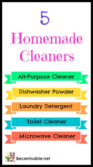 5 Homemade Cleaners