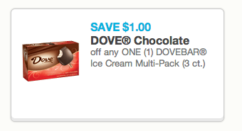 Dove Ice Cream Coupon
