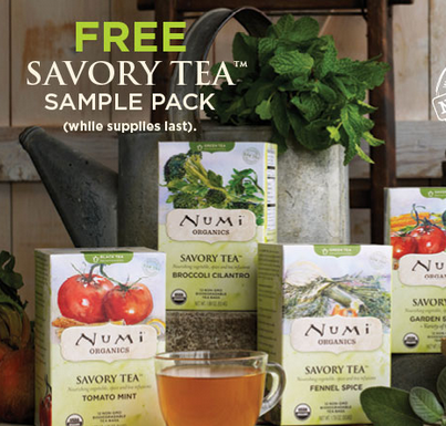 Numi Tea Free Sample
