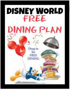 Disney world free dining plan walt disney world special offer How to get free dining at disney