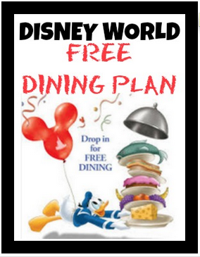 Walt disney world free dining plan How to get free dining at disney