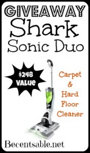 Giveaway Shark Sonic Duo Cleaner 248 Value