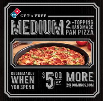 Domino's gluten free pizza coupon 2018