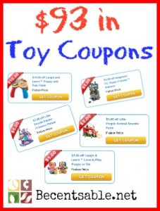 Toy Coupons
