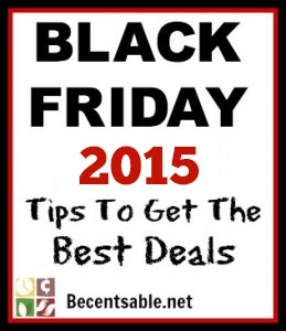Black Friday 2015 Tips