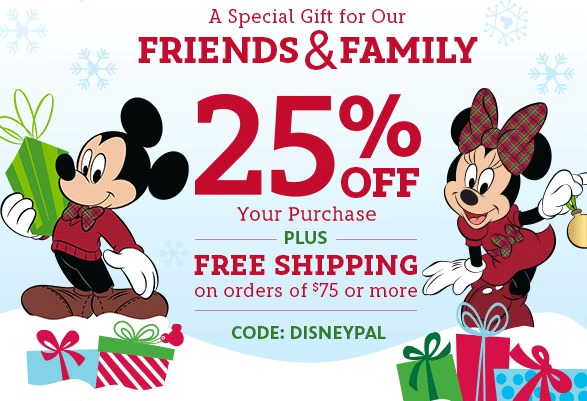 Disney shopping online coupons