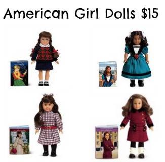 image about American Girl Printable Coupons titled Mini American Woman Dolls: Accurately $15 (Absolutely free Shipping and delivery)