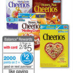 Cheerios Coupons: $.65 At Walgreens