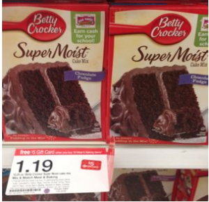 Cake Mix Coupon Deals