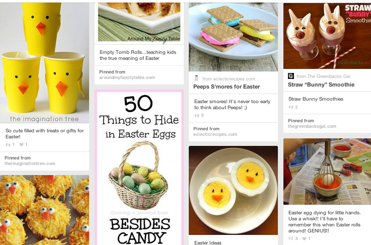 Easter Ideas On Pinterest