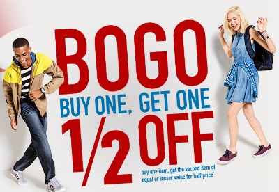 Target Shoes Buy One Get One Half Off