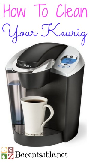 Keurig Coffee Maker Instructions For Cleaning : How To Clean A Keurig Coffee Maker