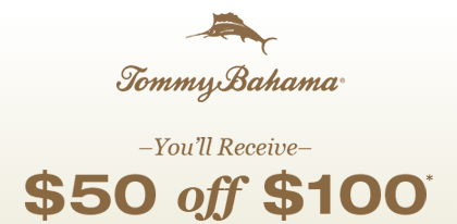 Tommy bahama coupon code