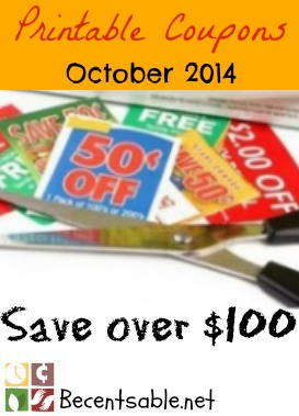 Printable Grocery Coupons Save Over 100