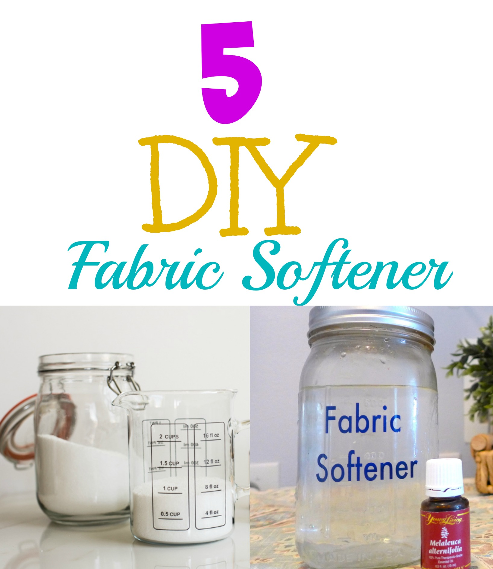 5 homemade fabric softener recipes - How to make your own fabric softener ...