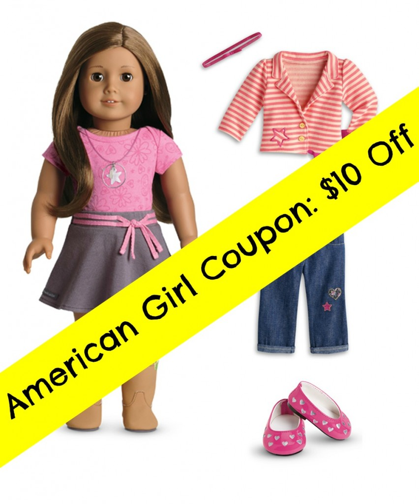 photo about American Girl Printable Coupon identified as American lady coupon printable / Lego developing bases