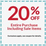 Michaels Craft Store Coupon: 20% Off (Including Sale Items)
